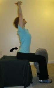 Let's Get Results, Shall We?  Sitting Overhead Extension e-cise