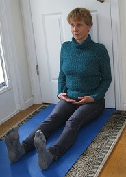 Sitting-floor exercise