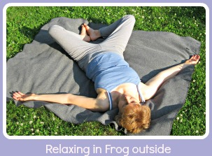 picture of Frog exercise