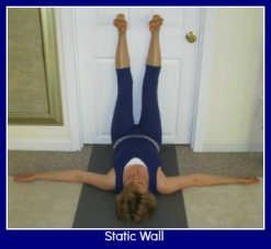 Static Wall Exercise To Improve Shoulder and Hip position