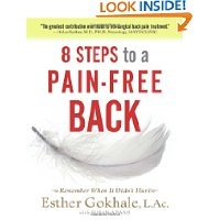 Gokhale method 8 Steps to a Pain-Free Back book cover