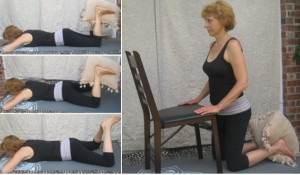 Removing Pelvic Rotation with Prone Ankle Squeezes